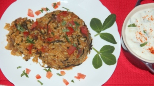 tomato methi rice2