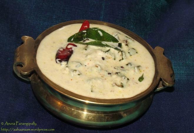 Vendakka Kichadi - Vishu Onam Sadya - Bhindi Raita - Bendakaya Perugu Pachadi