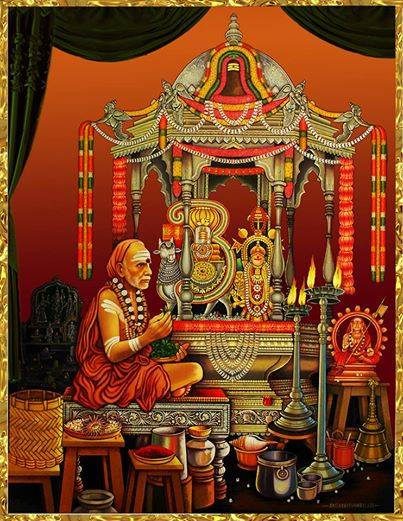 Periyava_chandramouliswarar_puja_color